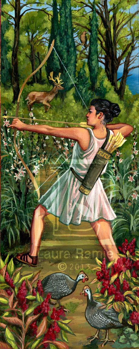 Artemis by LaurasMuse
