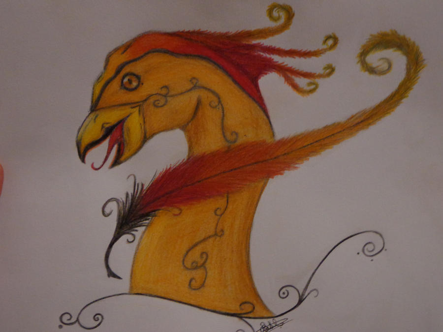 Rediana se présente. Pheonix__colored__by_xrediana-d5gs487