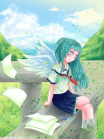 Waiting for you by Kawaii-SoupBowl