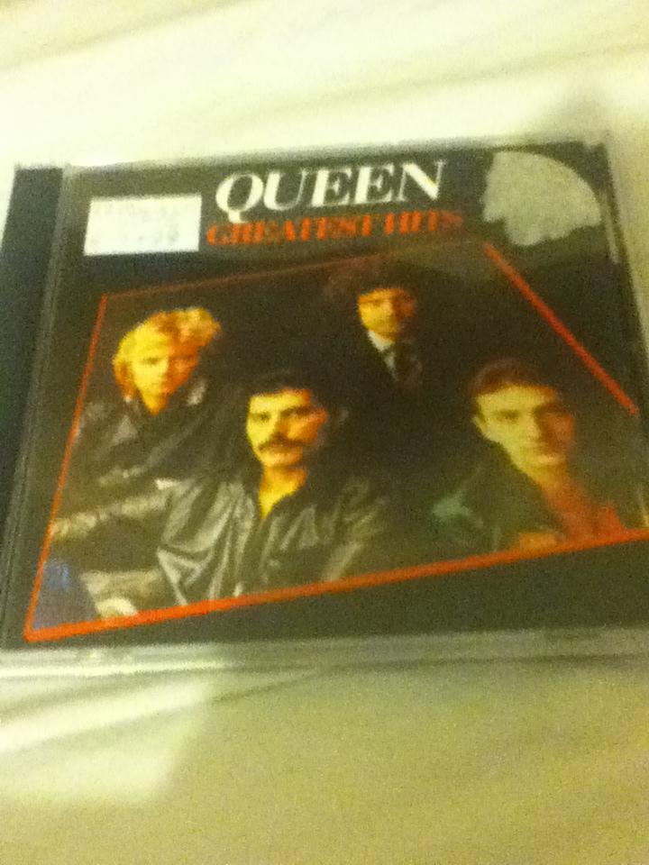 Queen-Greatest Hits by HTFBlueFan2012