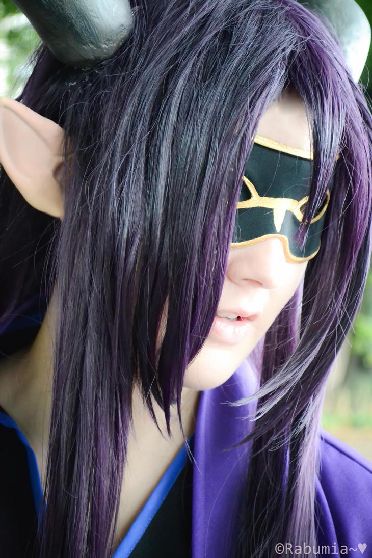 close up by Xalus-chan