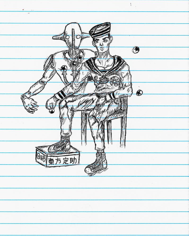 Jojo Gappy 26hr challenge art by QuibleyBravo