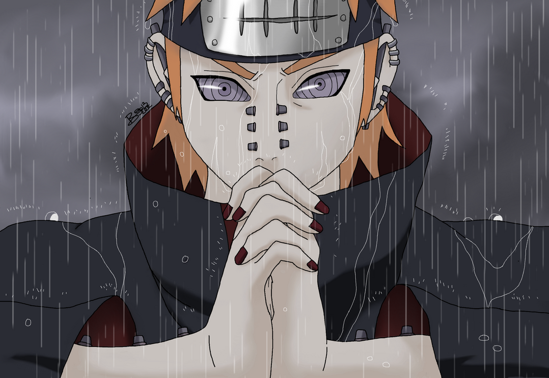 Naruto Rinnegan Eye Pain Pein Rinnegan Eyes of
