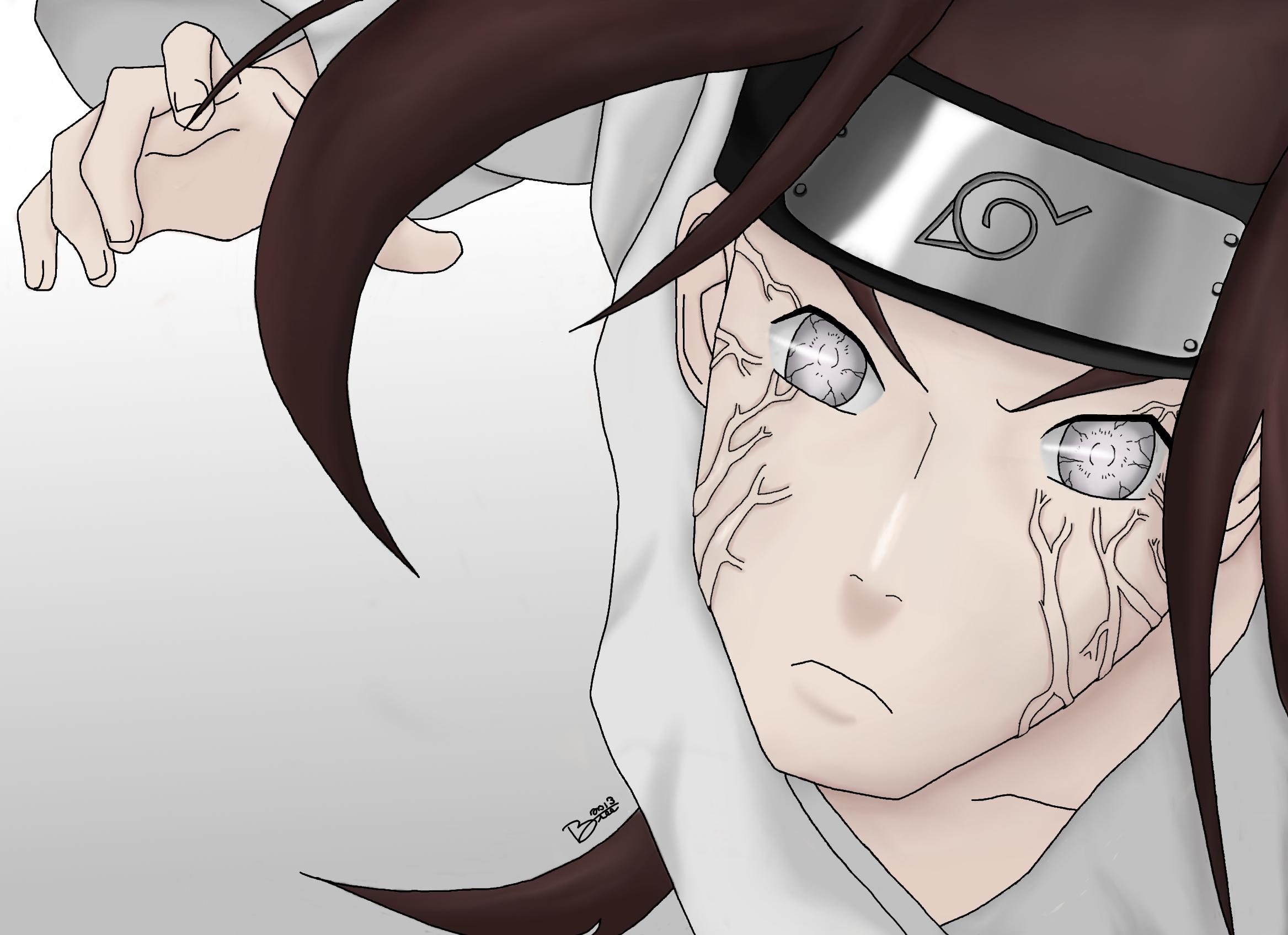 Neji Hyuga - Byakugan (Eyes of Naruto Series) by ...