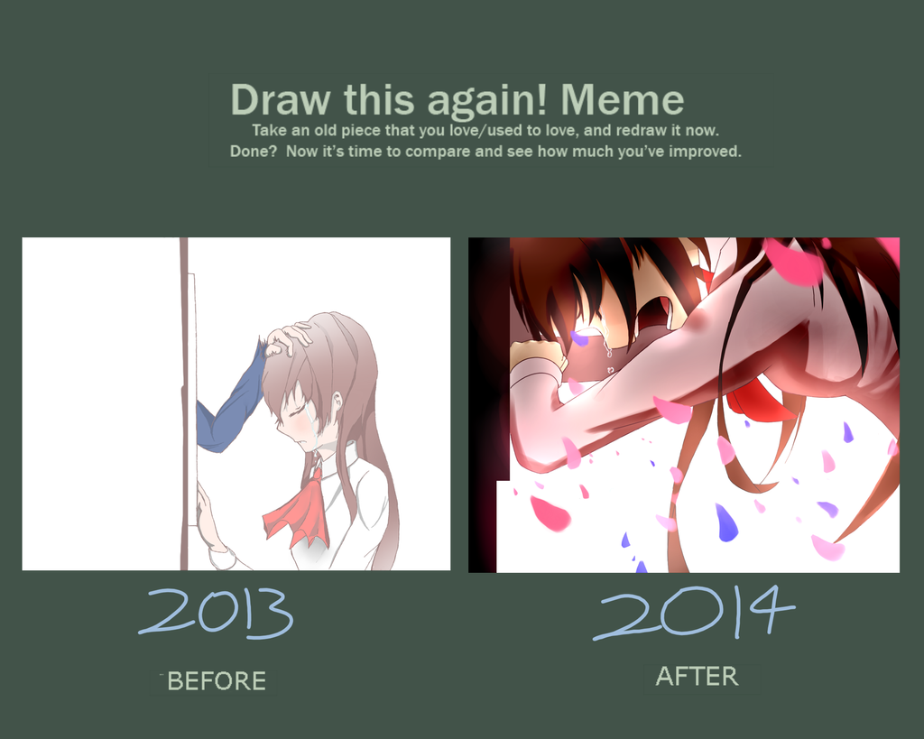 Draw this again meme by epictofulord for Draw this again meme template