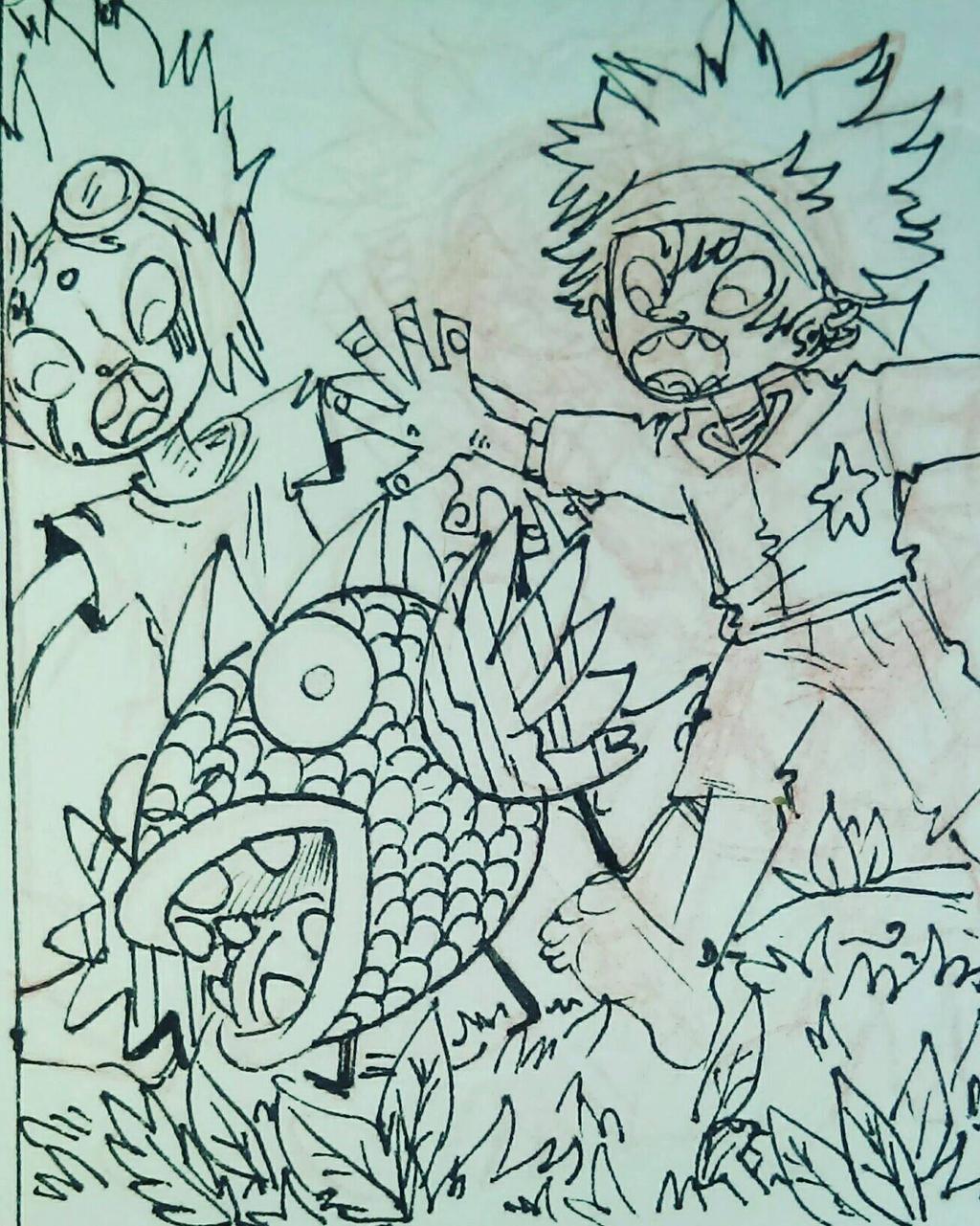 sketch by LinkzaurousRAW