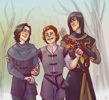boys of Stark by FrAlichen