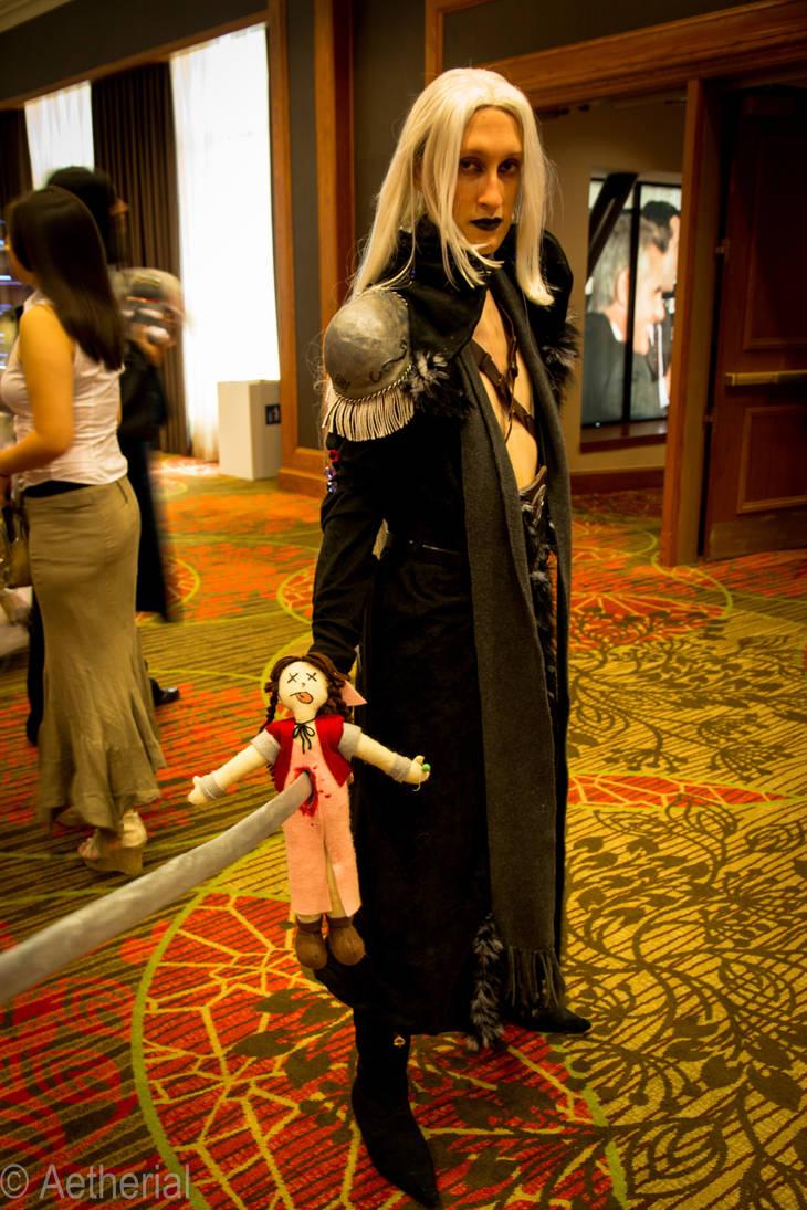Sephiroth and Aeris