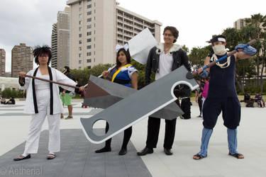 Oversized Swords