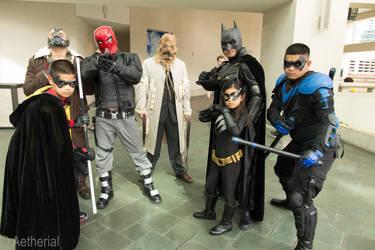 Bat Family and Villains