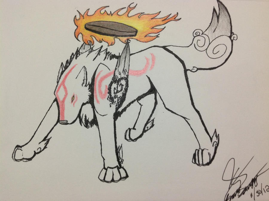 The Great and Glorious Amaterasu by EmprylShadow33