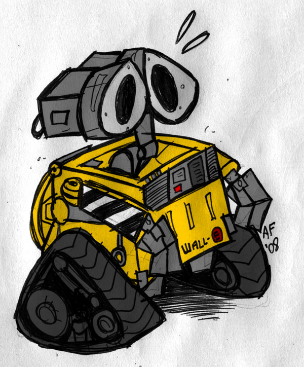 Wall-E by GagaMan
