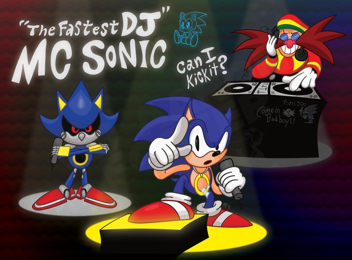 The Fastest DJ: MC Sonic by GagaMan