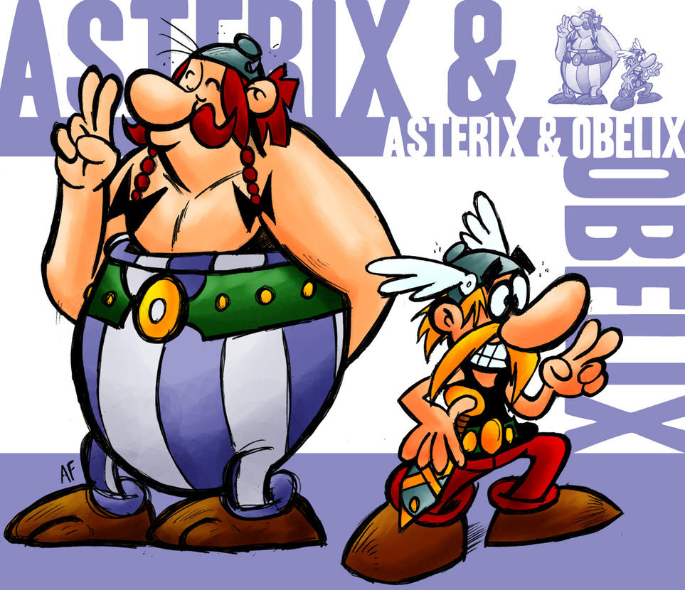 Asterix and Obelix by GagaMan