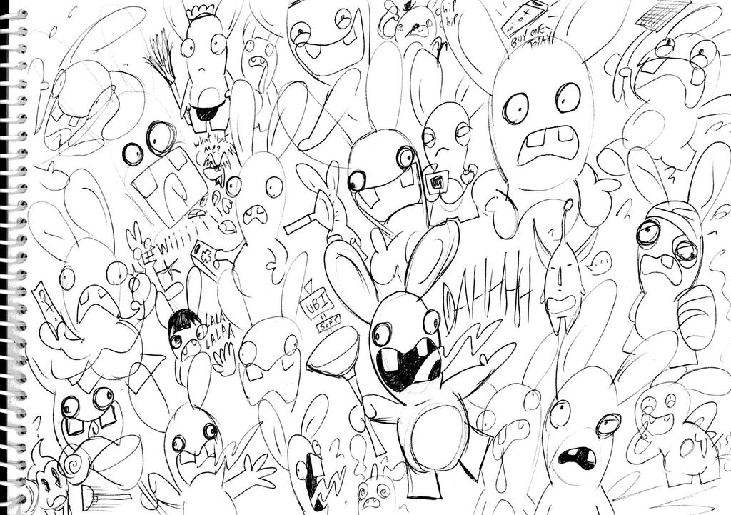 Rabbids Invasion Coloring Pages | www.imgkid.com - The ... Rabbids Coloring Pages