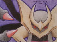 ACEO - Giratina by Ponyta3