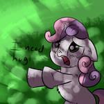 Sweetie Belle Needs Hugs