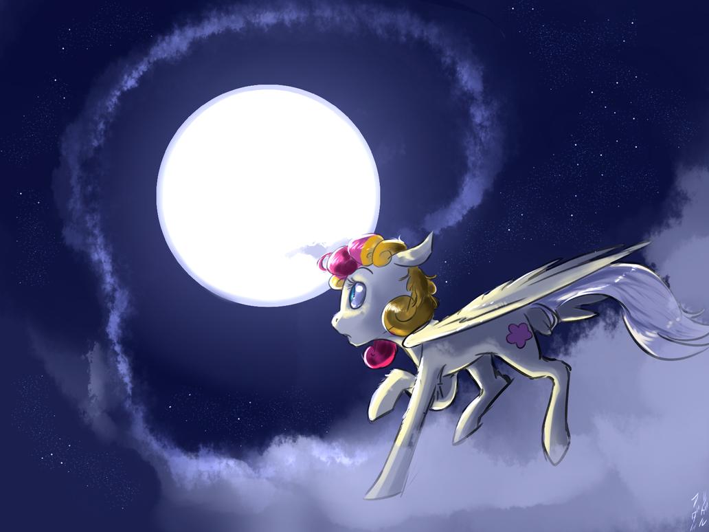 Pegasus Lola's Night Flight by imsokyo