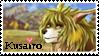 Kusairo fan stamp by Edge-worth