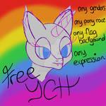 Pride Flag Headshot YCH