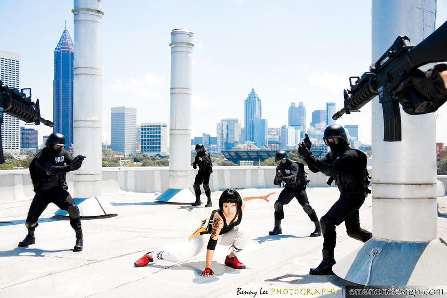 Mirror's Edge Cosplay 05 by Benny-Lee