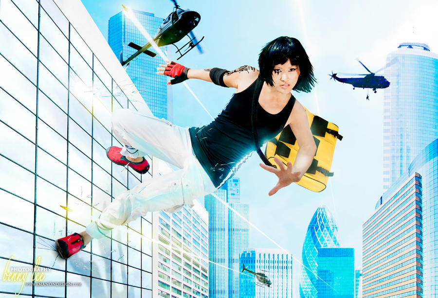 Mirror's Edge Cosplay 13 by Benny-Lee
