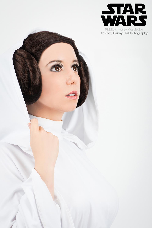 Star Wars: The Princess's gaze by Benny-Lee