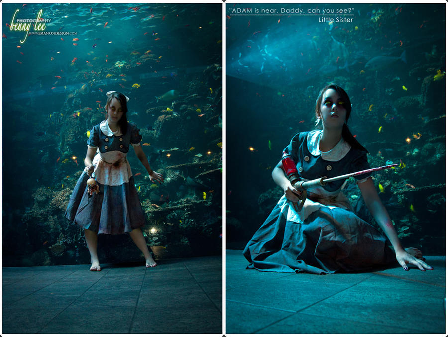 BIOSHOCK: ADAM is near, Daddy by Benny-Lee