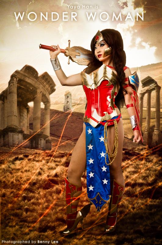 Ame-Comi Wonder Woman by Benny-Lee
