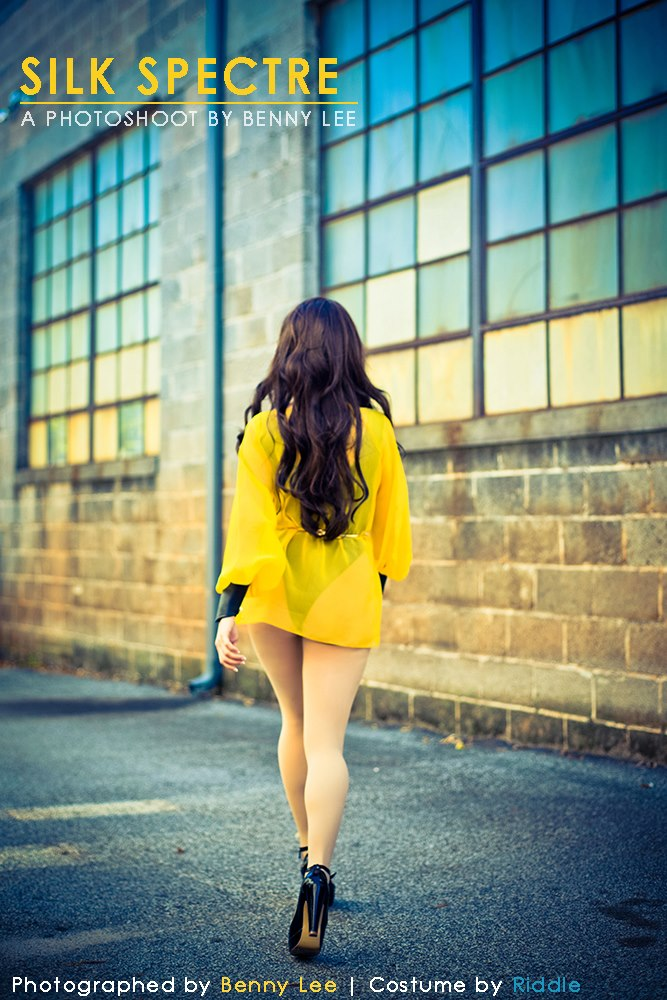 Silk Spectre teaser by Benny-Lee