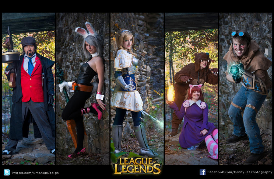 League of Legends Cosplay by Benny-Lee