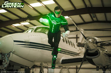 Green Lantern - In brightest day In blackest night by Benny-Lee