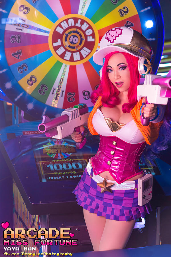 League of Legends Miss Fortune Arcade version