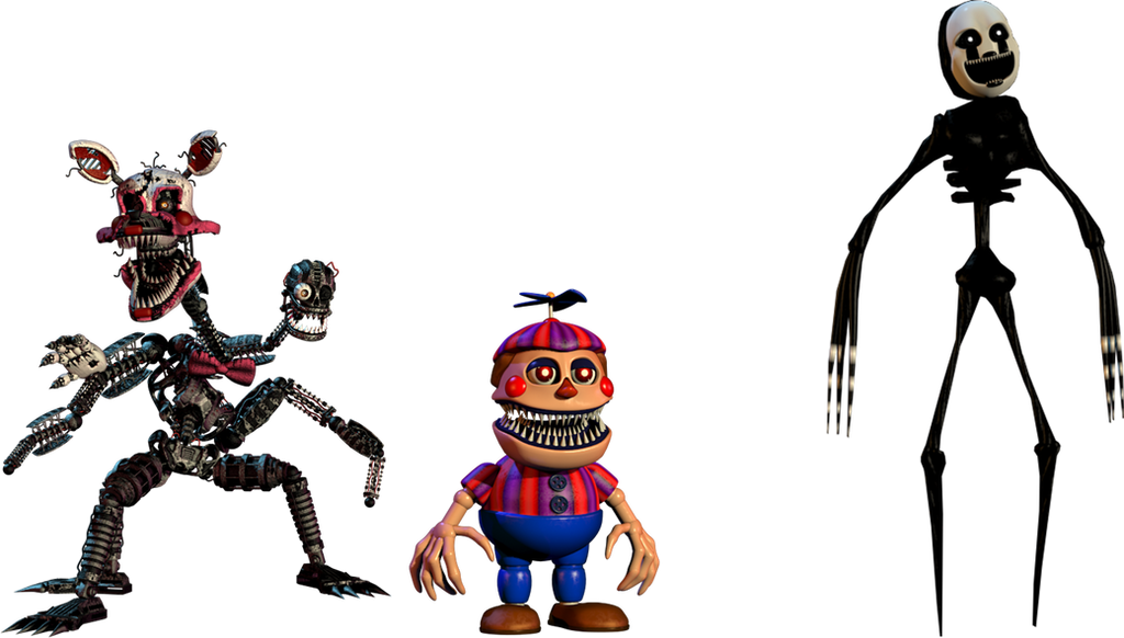 New nightmares fnaf 4 halloween by theglitchymaster on deviantart