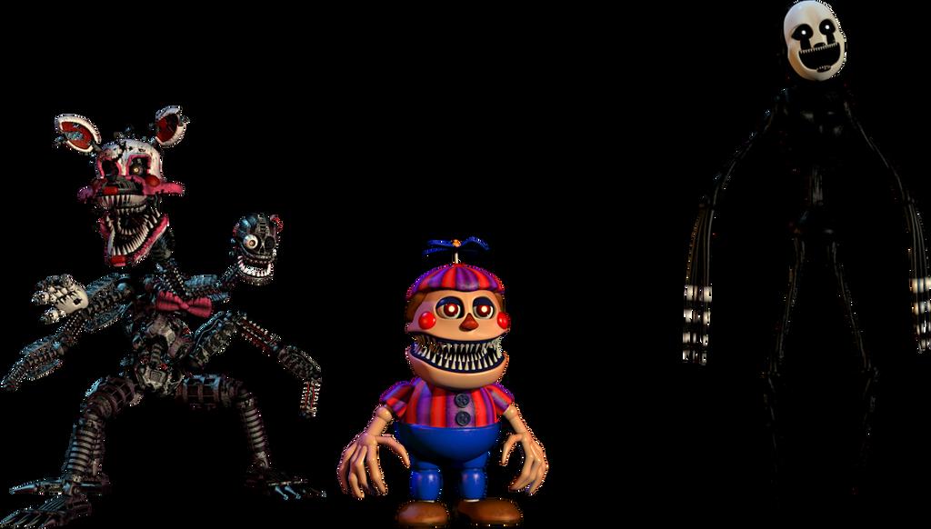 New Nightmares FNAF 4 halloween by TheGlitchyMaster on DeviantArt