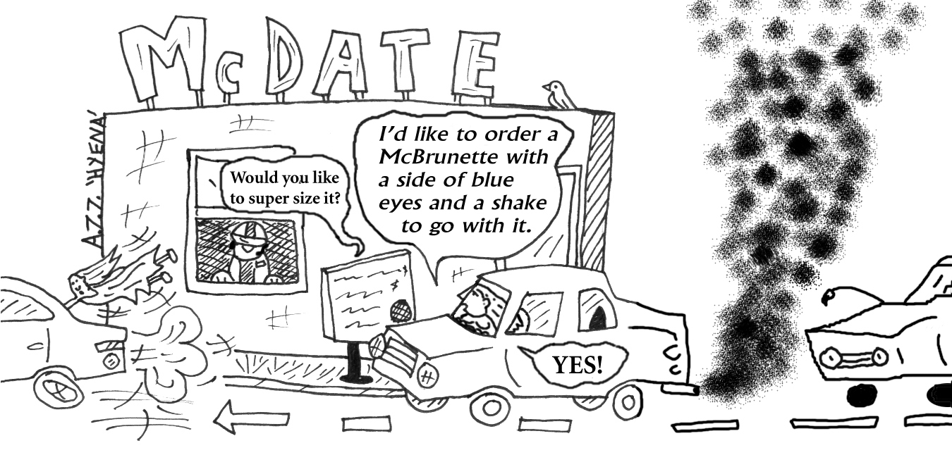 Speed Dating Cartoon By Laughinghyena On Deviantart