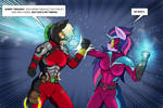 Power Ponies: Civil War by Nwinter3