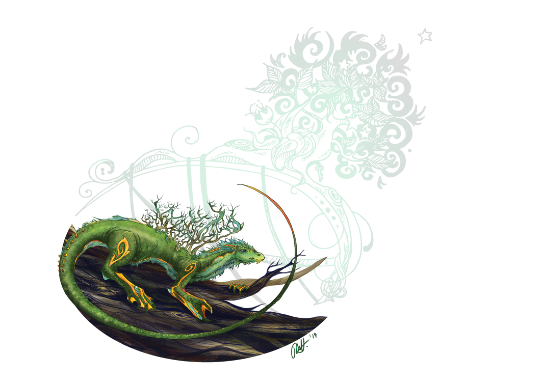 Swamp Dragon by KimiyoTarameHollows