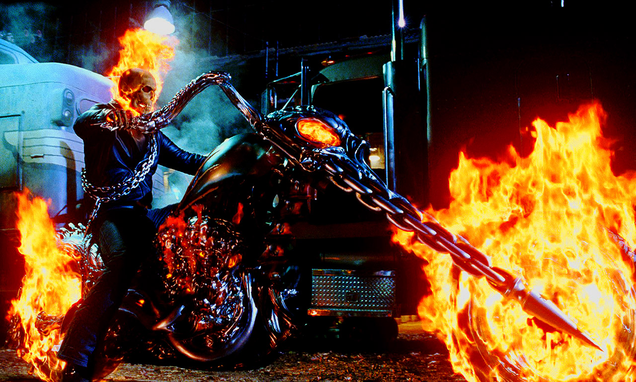 Ghost Rider - Side View