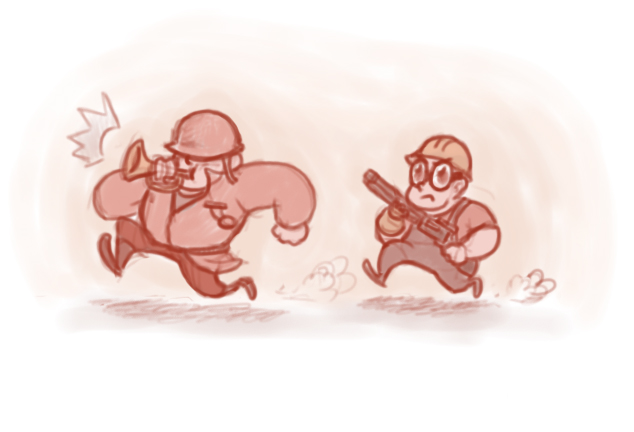 Forward charge! by ParallelPIE