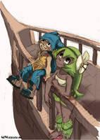 Yugo and Amalia - unfinished by GlancoJusticar