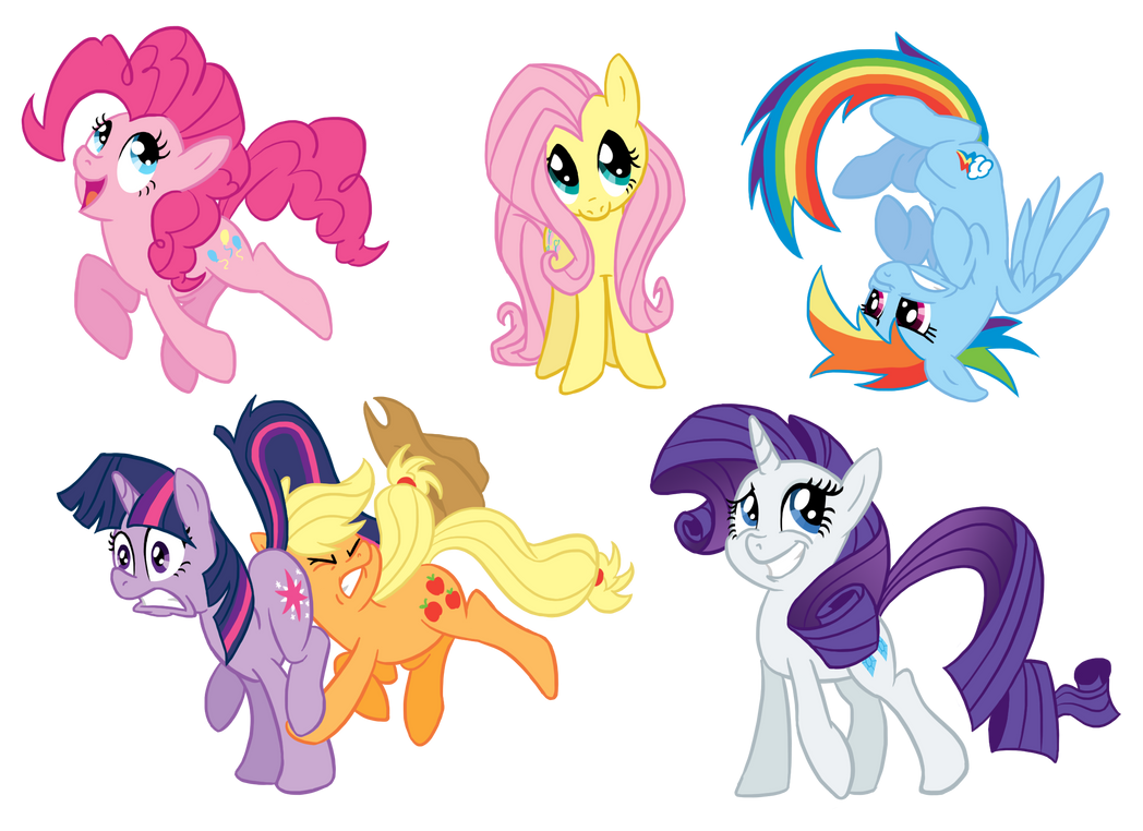 Ponies by GlancoJusticar