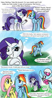 Rarity don't know how to vengeance