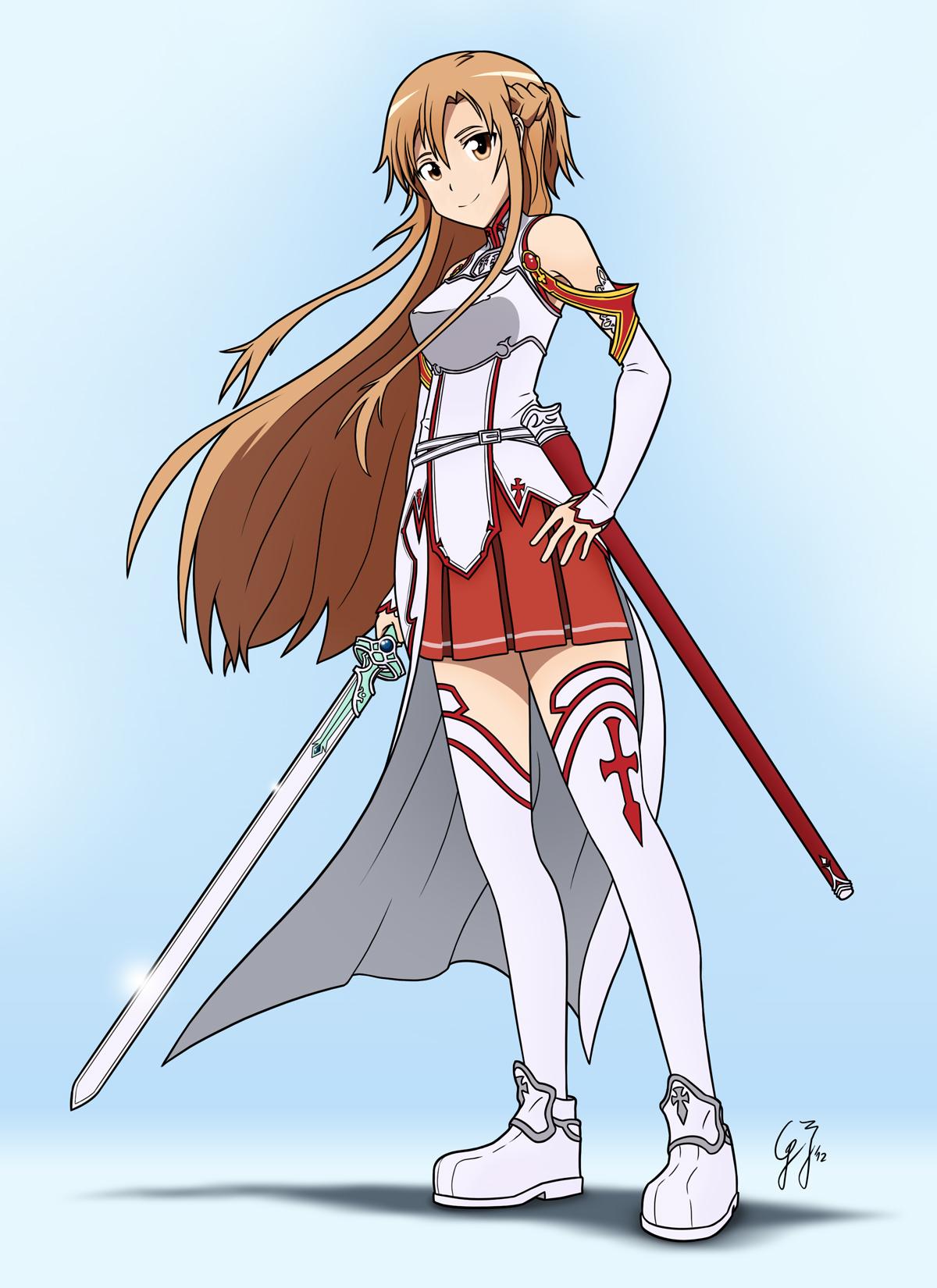 Asuna Sword Art Online Full Body