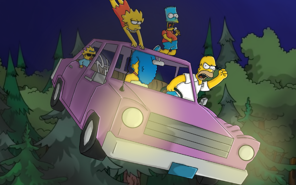 Marge, I'm a good driver? by zoladic