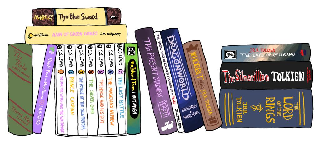 My Ideal Bookshelf By Eruanna