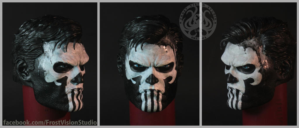 Frank Castle aka The Punisher. by Frost-Vision-Studio