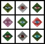 9 x Eyes by Niedziak