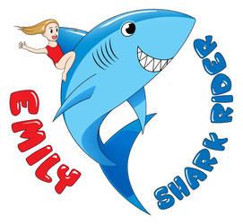 Shark Rider Emily by Niedziak