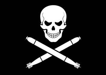 Torpedo Pirate Flag by Niedziak